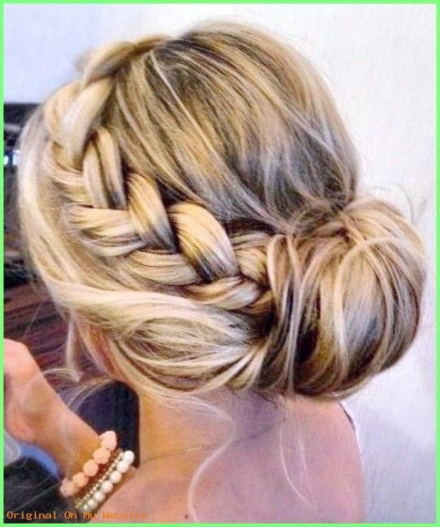 Prom Frisuren 2019 10 Braided Updos For Medium And Long Hair Promfrisuren Promfrisurenha Long Hair Styles Hair Styles Braided Hairstyles Updo