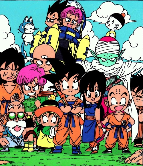 Dragon Ball Z Anime Characters : Chibi dbz characters creativity pinterest running