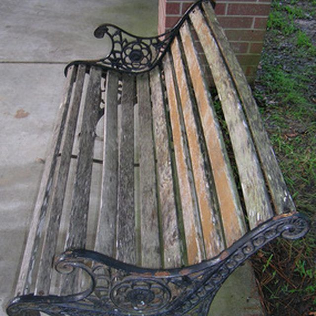 How To Replace The Wooden Slats In Garden Benches