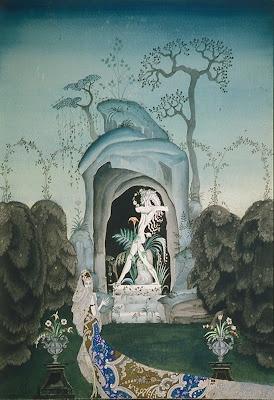 Kay Nielsen, The Faun, watercolour and bodycolour, Kendra and Allan Daniel Collection