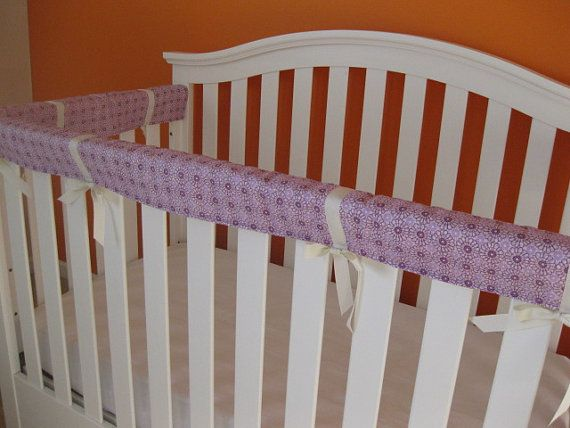 Crib Teething Guards for Convertible Cribs  3pc Set  by kimscherer, $70.00