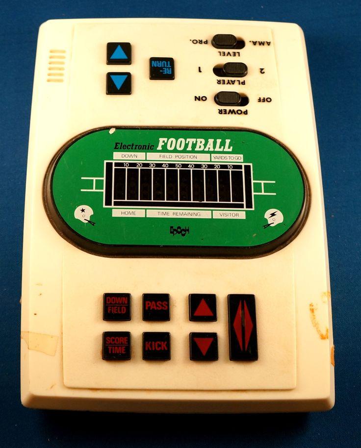 football arcade games 80s