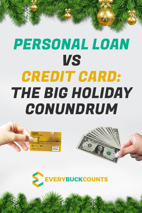 Personal Loan Vs Credit Card Which Is Better For Holiday Expenses Credit Card Missing Money