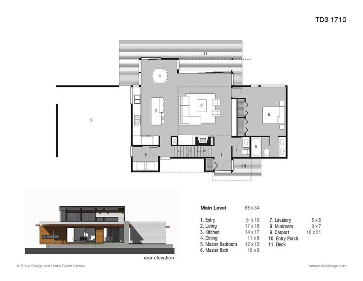 Turkel Design Plan Library House