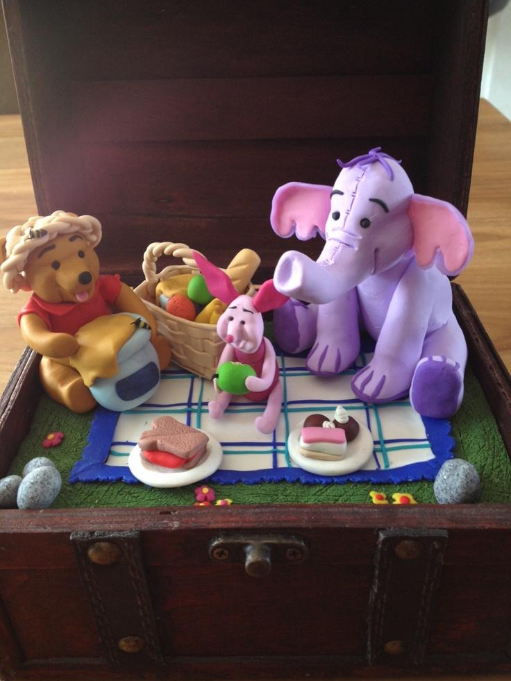 Winnie op Picknick