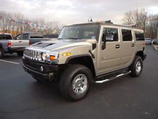 Hummer : H2 4dr Wgn 4WD 2005 h 2 auto 6.0 l 8 cyl 4 wd towing pkg leather dvd navigation low miles 80 k