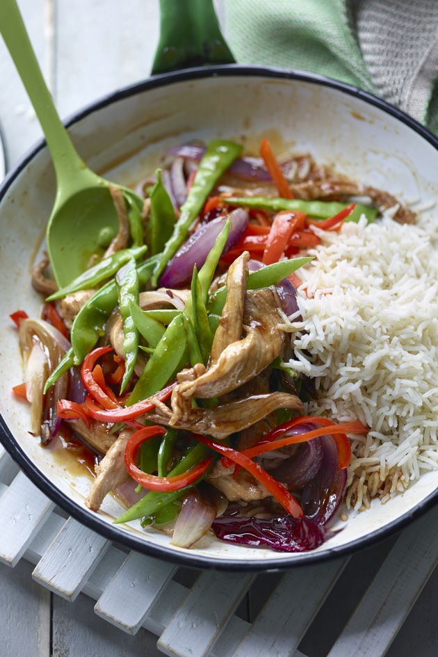 Discover The Body Coach Sweet and sour pork recipe here perfect for a quick low calorie mid-week dinner. This carb rich meal is perfect post work out