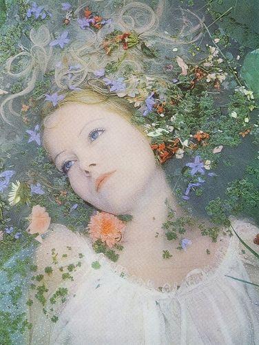 Ophelia? Photographer: John Hedgecoe