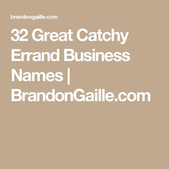 Best  Errand Business Ideas On   WomenS Business