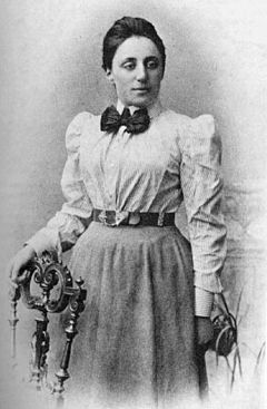 Emmy Noether (23 March 1882 – 14 April 1935), was an influential German mathematician known for her groundbreaking contributions to abstract algebra and theoretical physics.