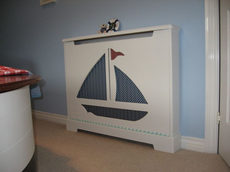 This yacht radiator cover would be great in a child's bedroom!
