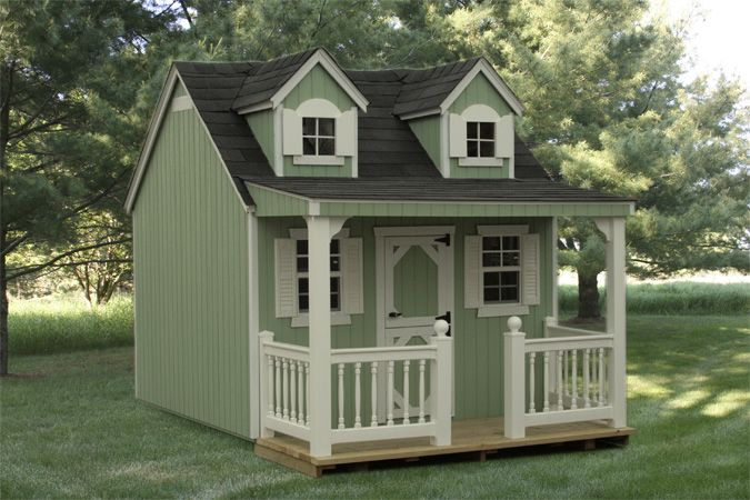 Play HouseGardens Ideaa, Future Daughter, Grandkids On, Plays House For Little Girls, Children Playhouses, House Playhouses, G Kids, Children Gardens, Play Houses