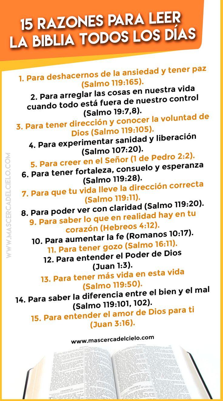 15 razones para leer la Biblia todos los días