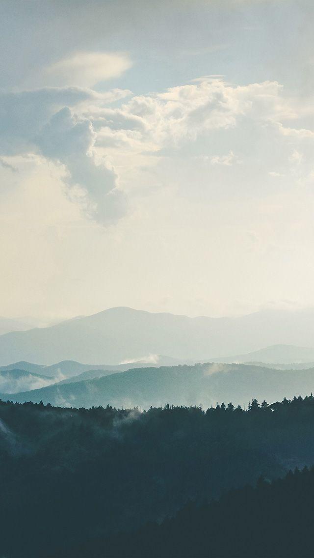 freeios8.com - nn56-mountain-morning-sky-bird-blue-nature - http://bit.ly/2iNcqbX - iPhone, iPad, iOS8, Parallax wallpapers