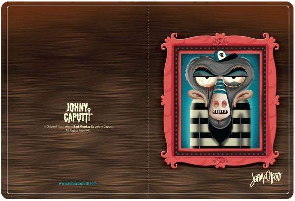 Illustration 1 by Johny Caputti, via Behance
