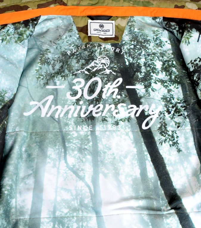30th. Anniversary limitted edition cammo shirt  / multicam - orange #pajaksport