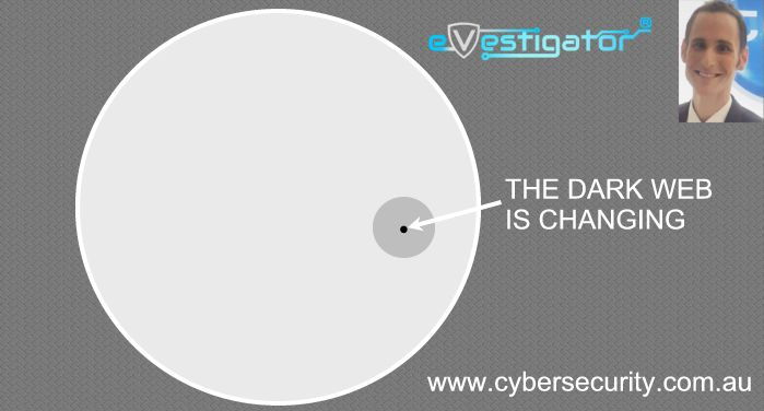 Press Release: The Dark Web (or 'Darknet'​) - It's a small dot, just about to expand
