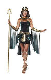 Diosa egipcia del traje de la Mujer