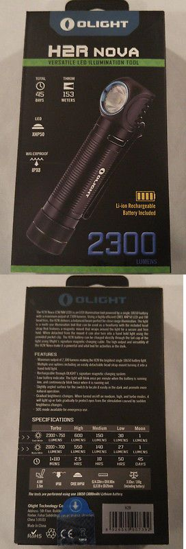 Flashlights 16037: Olight H2r Nova 2300 Lumen Neutral Headlamp Headlight Kit W Battery And Charger -> BUY IT NOW ONLY: $76.95 on eBay!