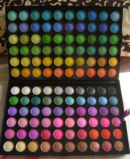 120 Color Eyeshadow Palette