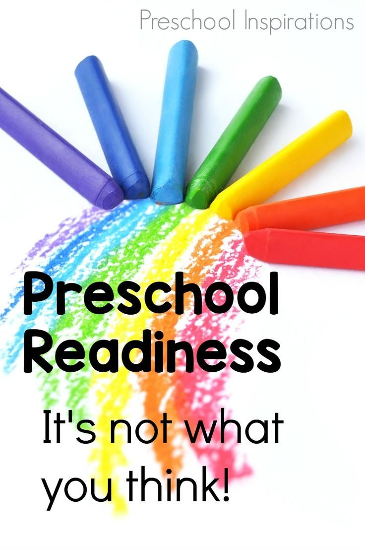 What does your child REALLY need to know for preschool? Preschool Readiness - It's Not What You Think! - Preschool Inspirations