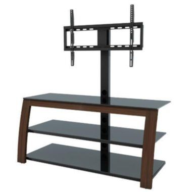 Etec - Tilting And Swiveling Flat Panel TV Mount Stand