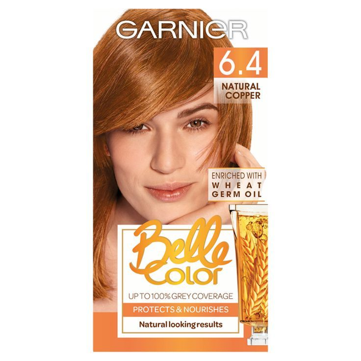 Garnier Belle Colour 6 4 Natural Copper Hair Dye With Images