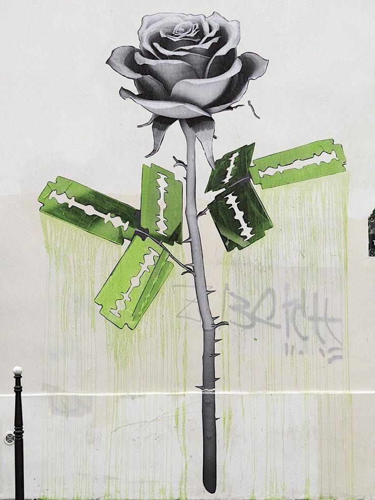 Drei neue Murals von Ludo in Paris