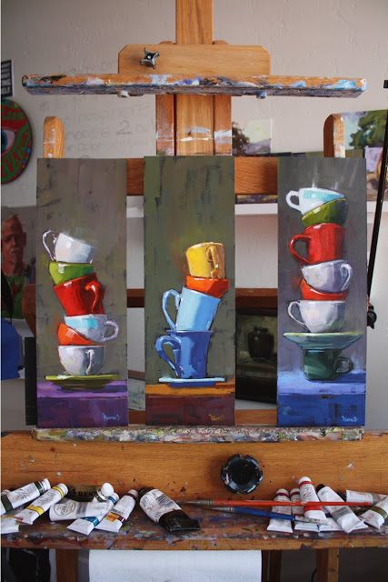 """cathleen rehfeld • Daily Painting: Just Off the Easel - """"Balance Series"""""""