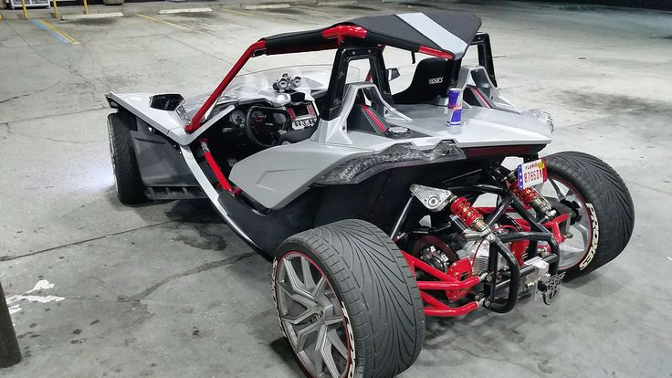 Polaris Slingshot quad conversion kit from Bullet Speed and Design