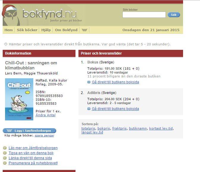 Böcker på bokfynd, t ex boken om Chill out: http://www.bokfynd.nu/9185535583.html kan leda vidare till bibliotek . Se mer på #bokfynd's framsida: http://www.bokfynd.nu .