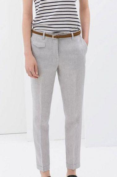 grey linen + stripes…++