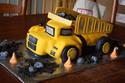 Sugar Weave Custom Cakes: Dump Truck Cake