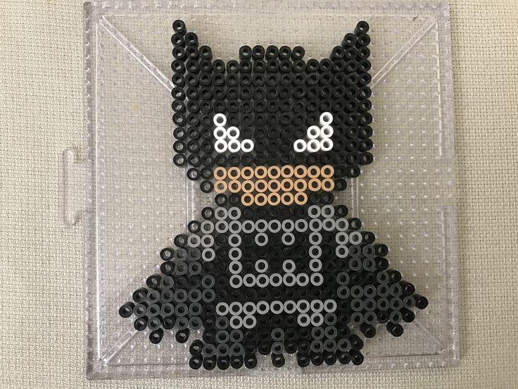 Batman Perler Bead Design