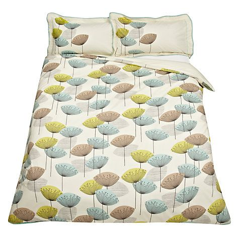 Buy Sanderson Dandelion Clocks Duvet Covers Online At