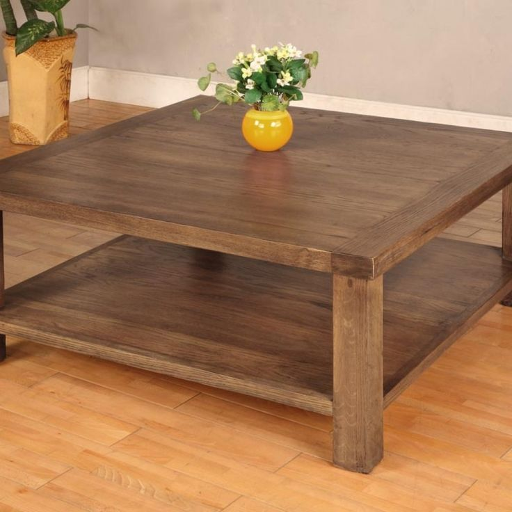 Hokkaido Square Coffee Table: Best 25+ Large Square Coffee Table Ideas On Pinterest