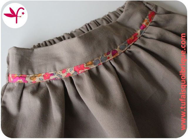 250 best images about tu fais quoi brique maman on pinterest bracelets wraps and poppies - Tuto jupe facile elastique ...