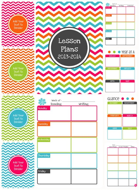 I teach what 39 s your super power editable planner for Yearly lesson plan template