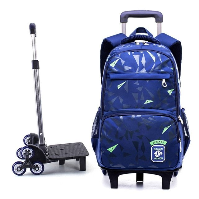 Grades 4 9 Waterproof Removable Children School Bags With 2