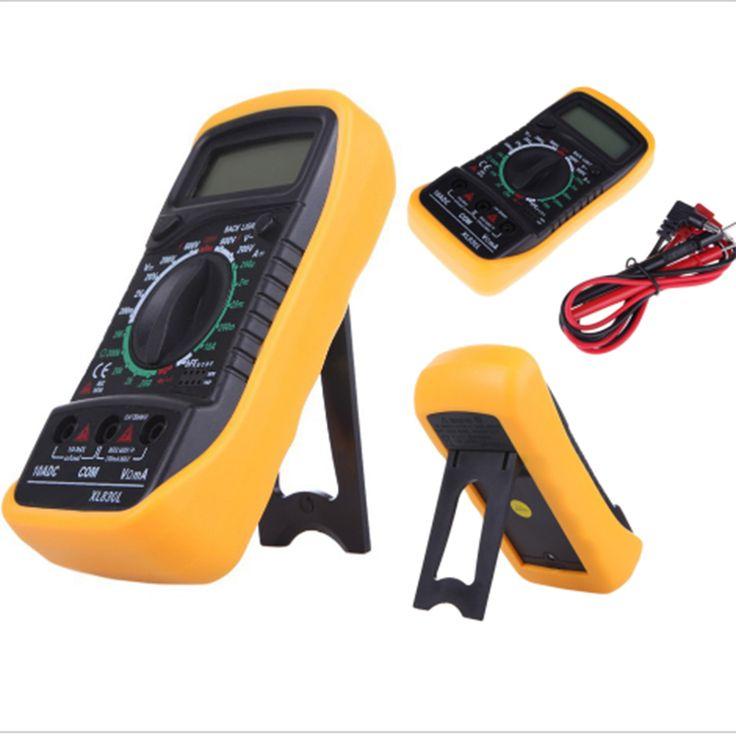 New arrive Backlight Digital LCD Multimeter Voltmeter Ammeter XL830L AC DC OHM Volt Tester Test Current