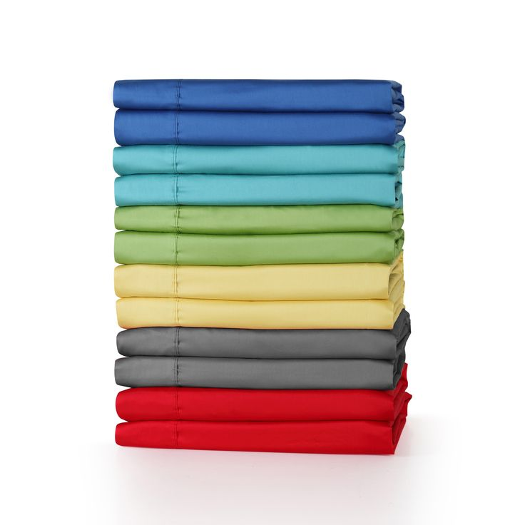 Fiesta 300 Thread Count Solid Color Cotton Queen Size Sheet Sets in Sunflower