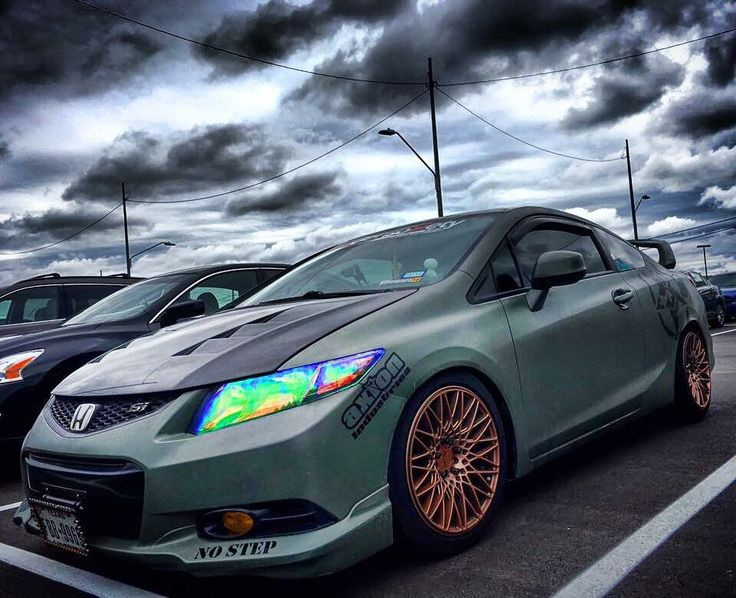 2012 9th Gen Civic Si All Motor Army Civic 9GensoSiety · Jdm ImportsImport  CarsNice ...