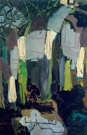 Wald-Variation II (1989) by Per Kirkeby