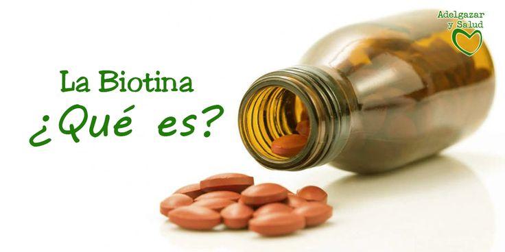Entérate todo acerca de la biotina ¡Sigue leyendo!