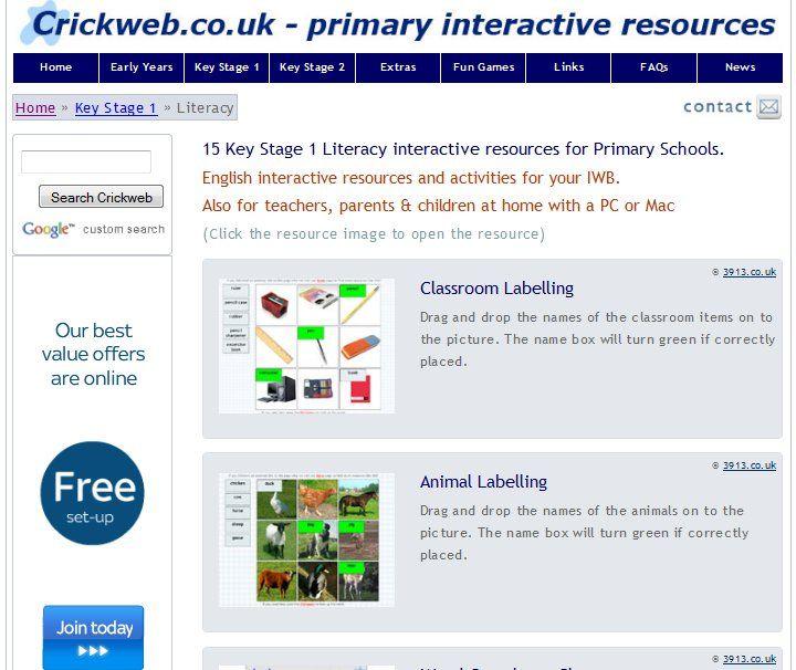 Online Literacy Resources Part 1