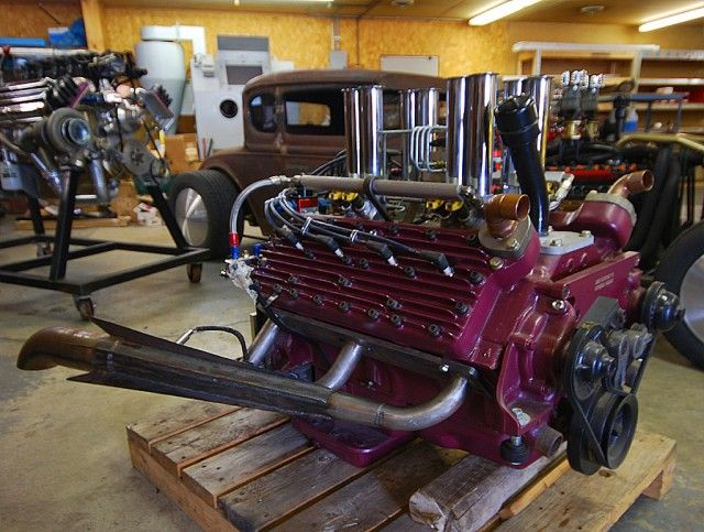 5 5L Ford Flathead 337 V8 | Engines | Motor engine, Car engine, Ford v8