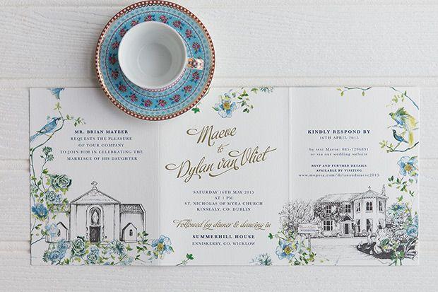 De 1237 Bedste Billeder Fra Wedding Invitations Pa Pinterest