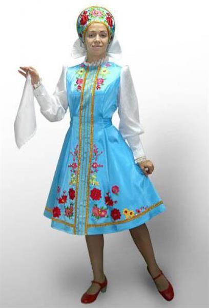 Купить русский народный костюм концертный