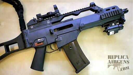 Airsoft assault rifle