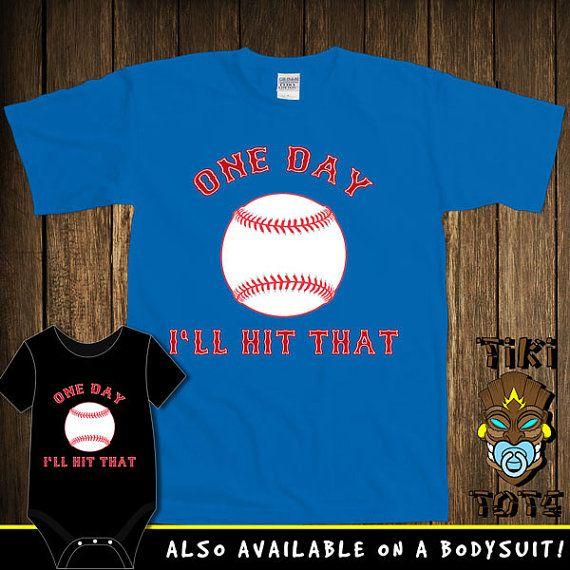 Funny Baseball Dirty Joke Bodysuit Toddler Youth by TikiTotsShop